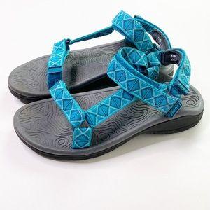 J Sport Jambu Blue Strap Sandals Walking Comfort